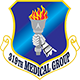 Logo: 319th Medical Group - Grand Forks Air Force Base